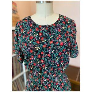 80's/90's Vintage Liz Claiborne Button Down Dress